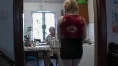 STP3 Grandpa Loves Fucking Her Tight Hairy Teen Cunt !