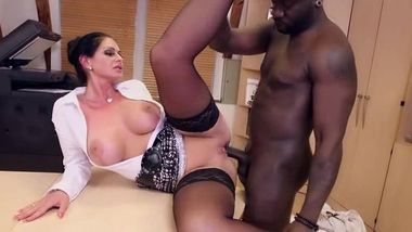 Hot milf and her younger lover 508