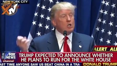 Donald Trump Presidential speech announcement 2016 - Donald Trump Bashes Me
