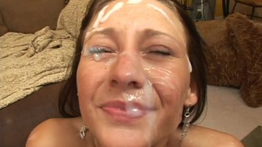 18 year old JESSICA VALENTINO gangbang - Cover My Face
