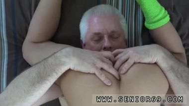 My neighbor and old german guy full length Carolina is super-naughty and