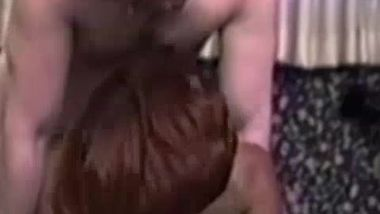 Real vintage amateur pussy slammed before facial