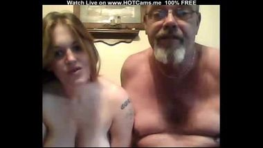 Old Guy & Young Busty Girl