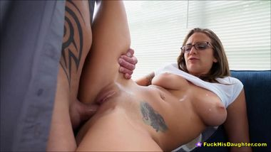 Hot Teen Minx Layla London Fucks Dads Best Buddy