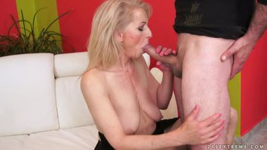 Lusty Hungarian Grandma Need Massive Young Dick