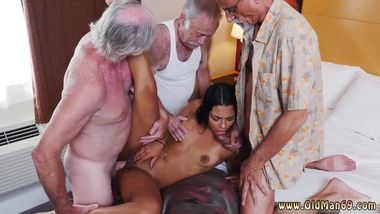 Old boss and young girl with old xxx Staycation with a Latin Hottie