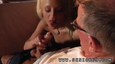 Old man spanks girl Old John stiff pulverize youthful Anastaisa
